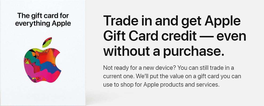 Apple trade-ins