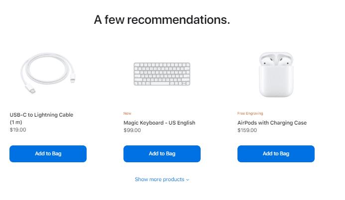 Apple cross-selling strategy